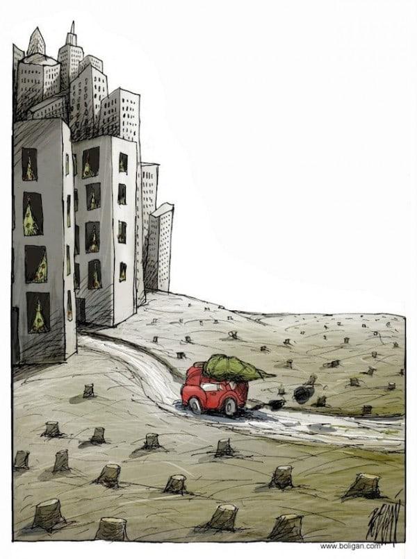 Surreal-Contemporary-Cartoons-by-Angel-Boligan-9-600x805