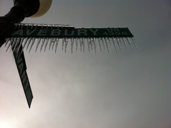 A+frozen,+iced+out+street+sign.+-+The+30+Most+Amazing+Photos+Of+Frozen+Things+In+Honor+Of+The+Coldest+Morning+Of+The+21st+Century