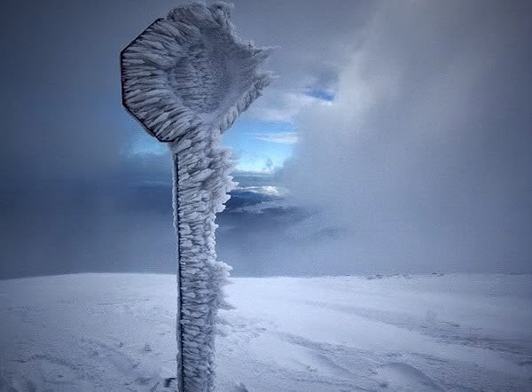 A+frozen+stop+sign+in+Russia.+-+The+30+Most+Amazing+Photos+Of+Frozen+Things+In+Honor+Of+The+Coldest+Morning+Of+The+21st+Century