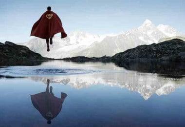 Portraits of Superheroes by Benoit Lapray