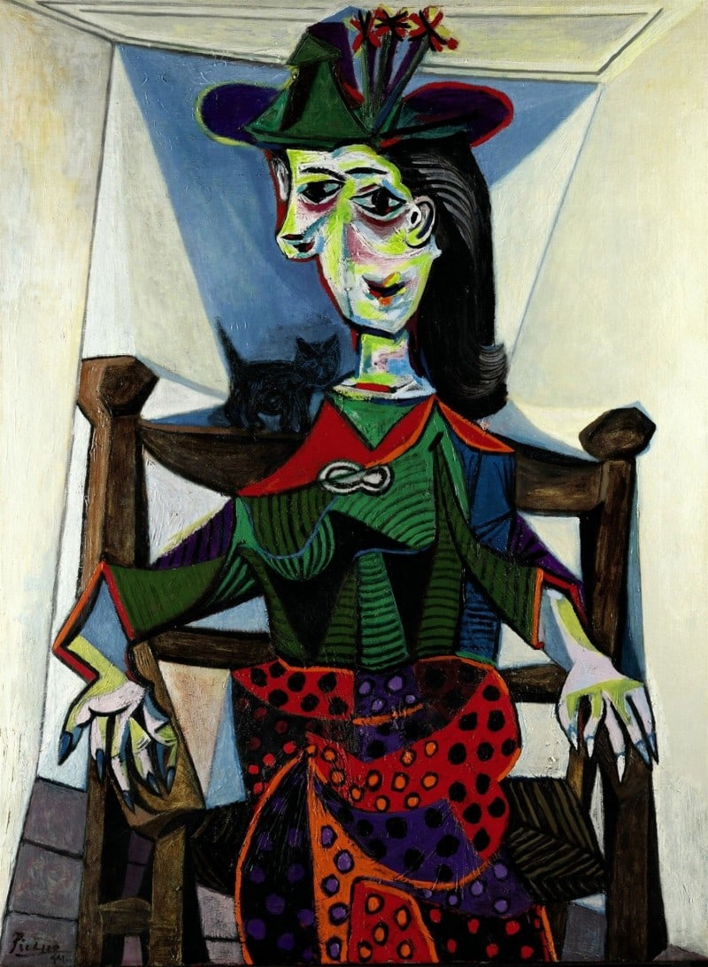 Dora-Maar-Au-Chat-by-Pablo-Picasso