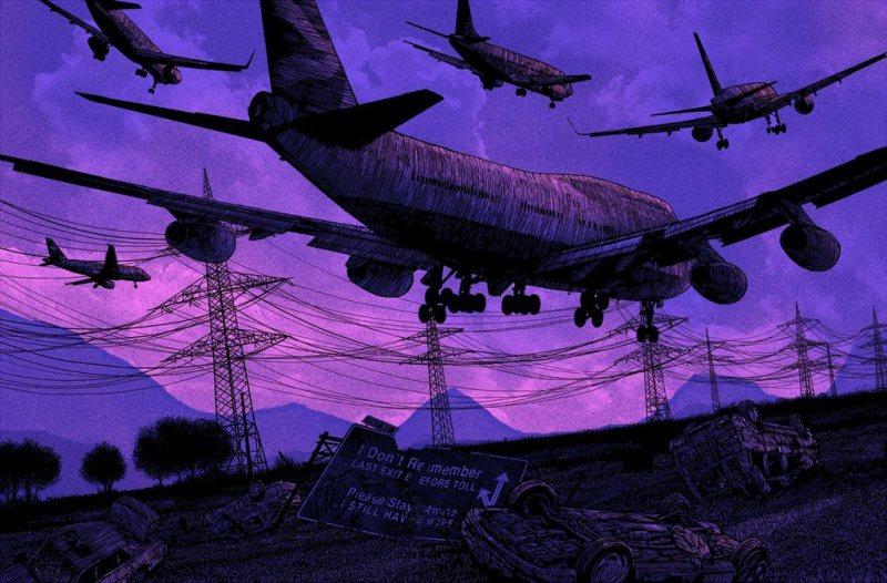 daniel-danger-painting-illustration-printmaking-chicquero-flight-airplanes