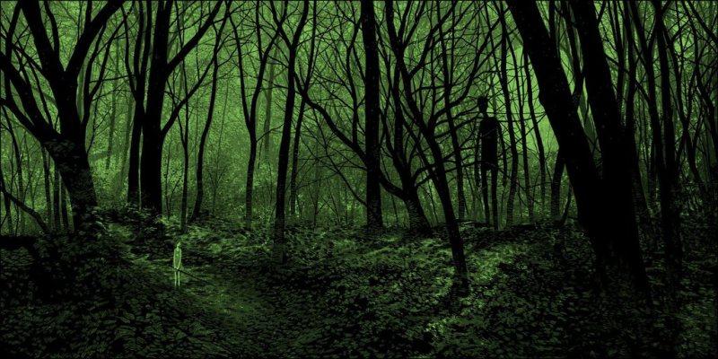 daniel-danger-painting-illustration-printmaking-chicquero-forest-of-secret