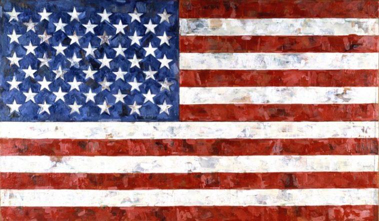 jasper johns flag 1