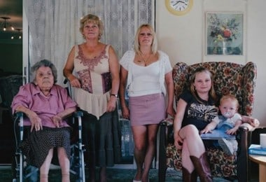 """""""Generations"""" - Families with 5 Generations in 1 Photo by Julian Germain"""