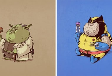 Chubby Pop Culture Icons – The Famous Chunkies by Alex Solis 1