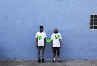 """Landline"" - Geometric Tape Art by Aakash Nihalani in Brooklyn // NYC"
