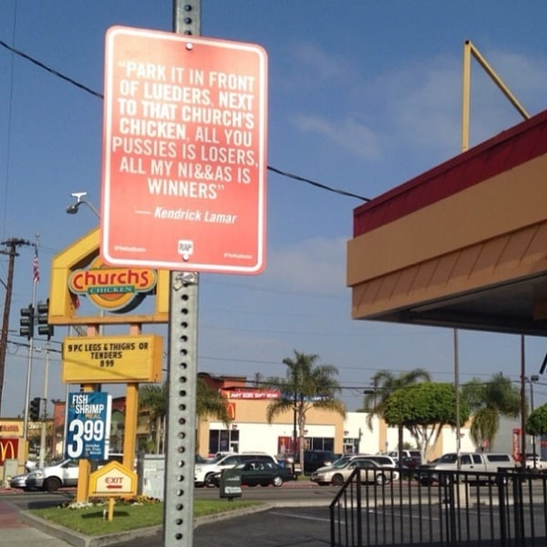 New _RAP_QUOTES_Signs_on_Original_Locations_in_Los Angeles_2014_05