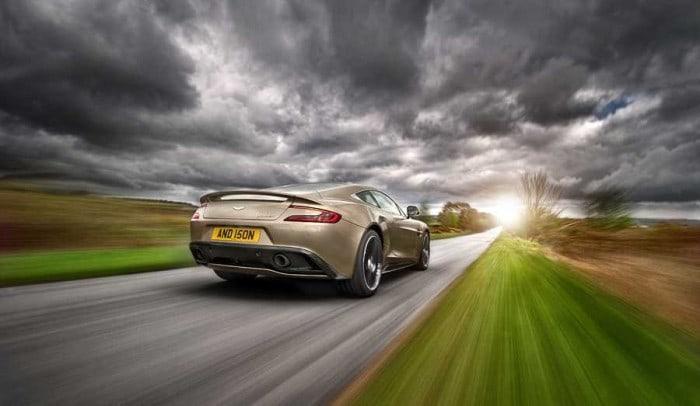 Aston Martin 2013 Vanquish Car Photography