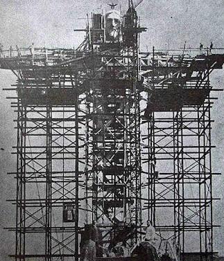 Construção-do-Cristo-Redentor