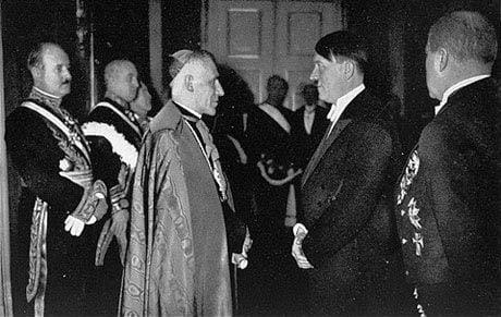 Papa Pio XII and Hitler