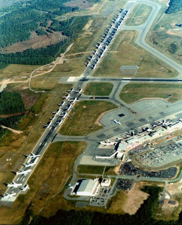 Halifax airport plane