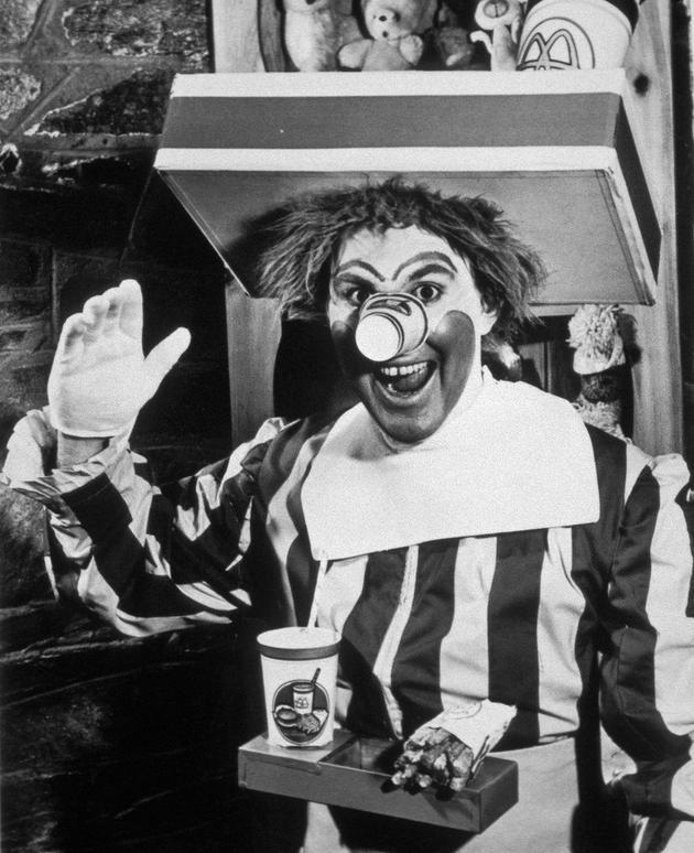 McDonald's Ronald 1963