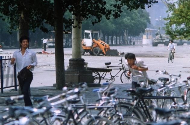 Tank Man Tiananmen square