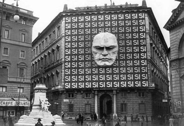 Mussolinini headquarters in rome