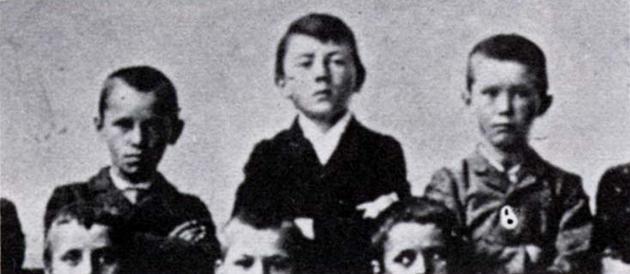 Hitler at Age 11