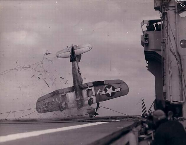 F4U Corsair crashes
