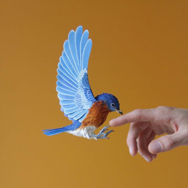 1-Bird-Paper-Sculptures-by-Diana-Beltran-Herrera-yatzer