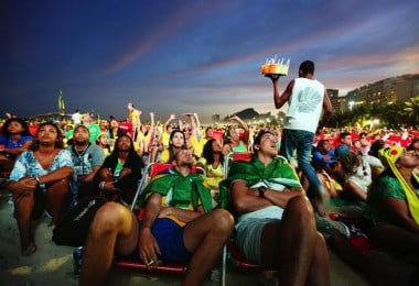 A Photographic Journey Exploring Crowds At The WORLD CUP 2014 In Brazil by Jane Stockdale
