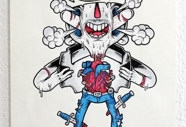Niklas Coskan's Frantic Gang Illustrations