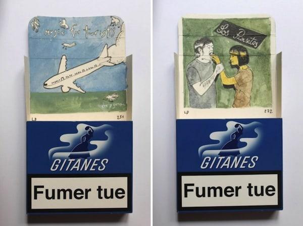 Smoke_Signals_Drawings_on_Gitanes_Cigarette_Packs_by_Leo_Dorfner_2014_04