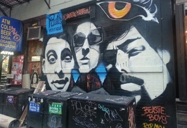 Beastie Boys Paul's Boutique Mural In NYC by Danielle Mastrion