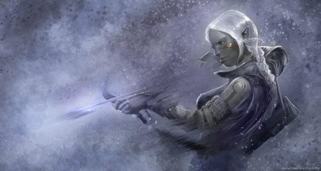 elf-girl-shooting-arrow-white-hair-fantasy-character-art-fairy-tale-illustration-elven-643x344
