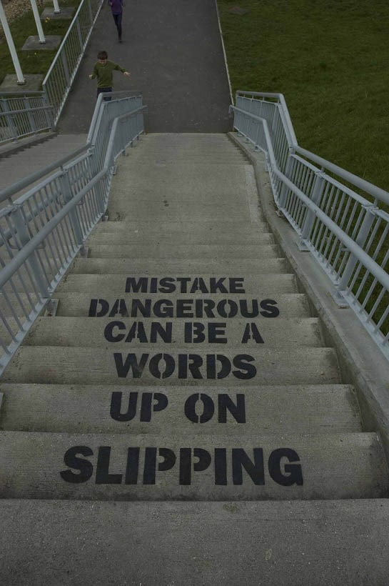 slipping-up-on-words-can-be-a-dangerous-mistake-stencil