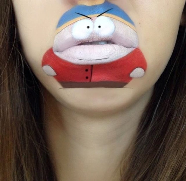 Funny_Lipart_featuring_Comic_Characters_by_Make_Up_Artist_Laura_Jenkinson_2014_03