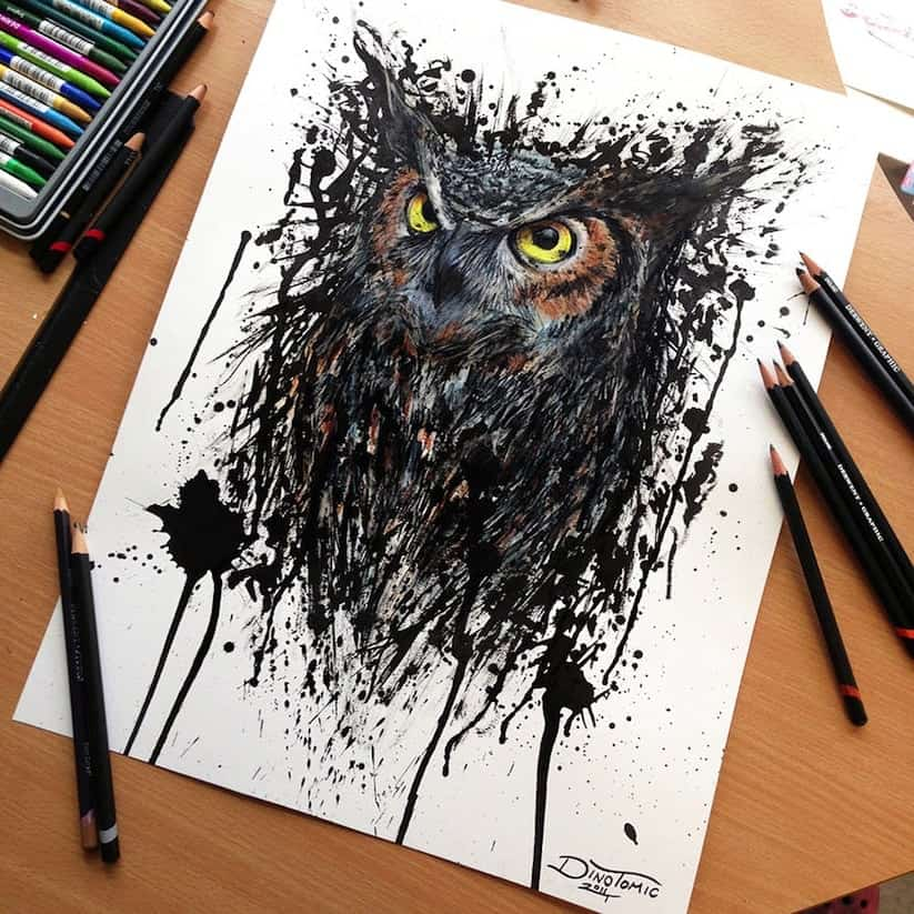 Amazing Pencil Drawings by Tattoo Artist Dino Tomic 2014 01 1