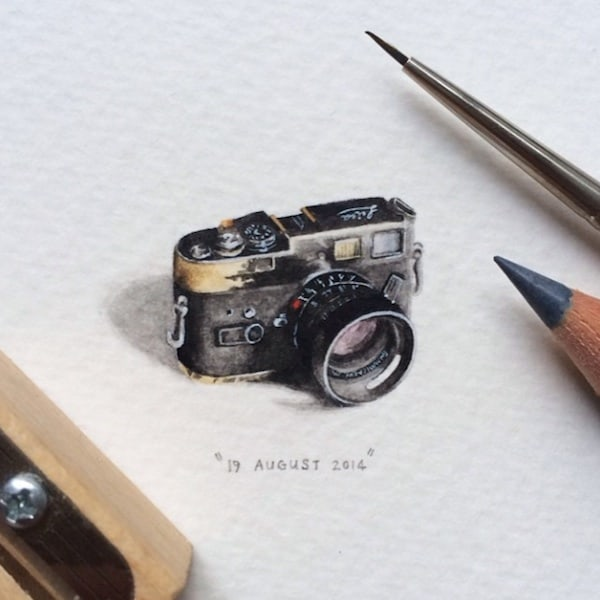 Postcards_for_Ants_Miniature_Watercolor_Paintings_by_Lorraine_Loots_2014_04