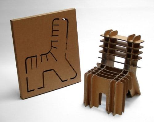 cardboard chair packaging