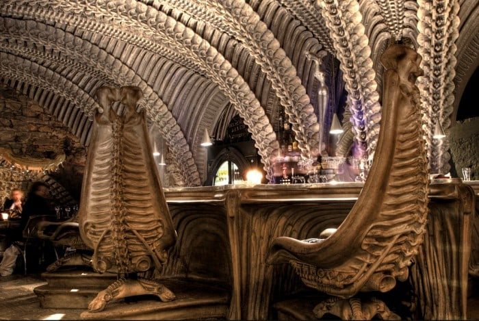 H R Giger museum bar