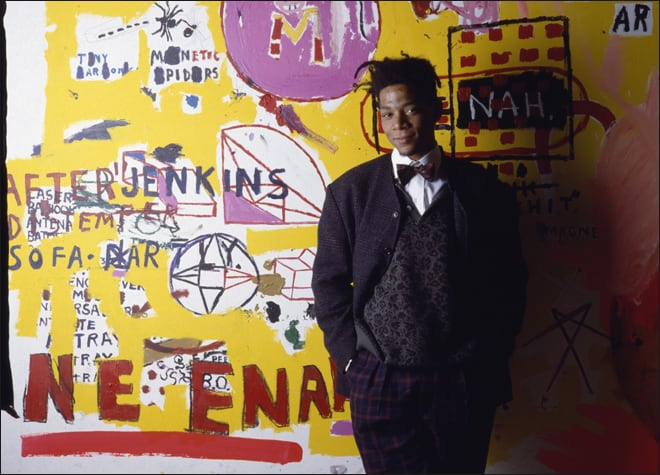 American Painter Jean-Michel Basquiat