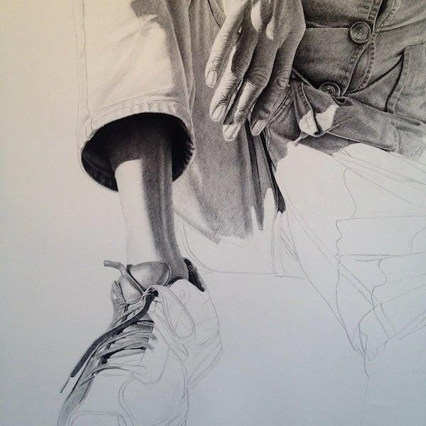 No_Regrets_In_Life_Drawings by_Joel_Daniel_Phillips_2014_04