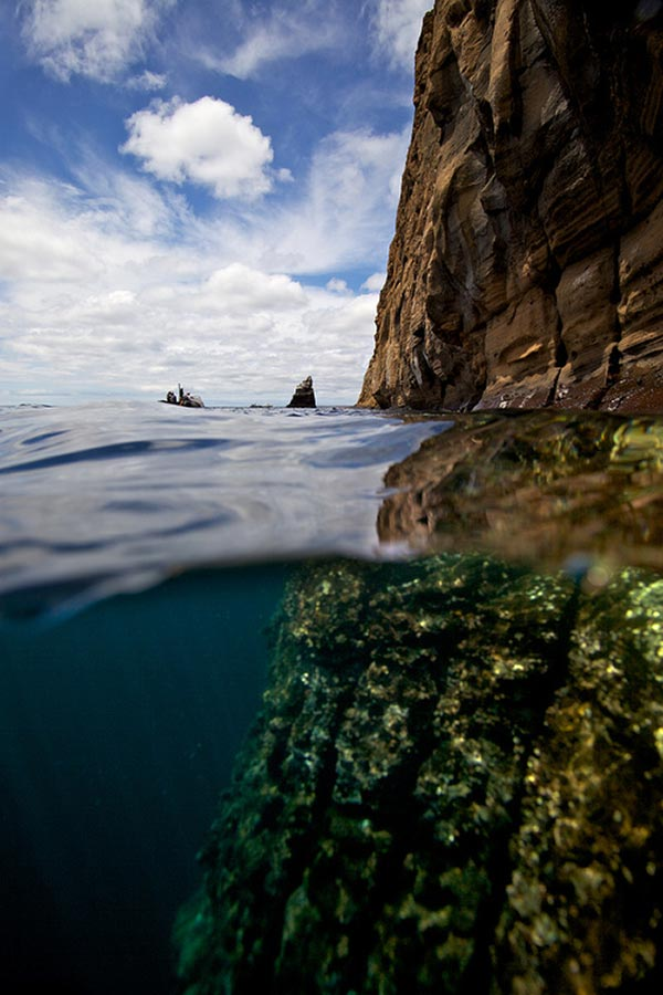 Split-View-Galapagos-Islands