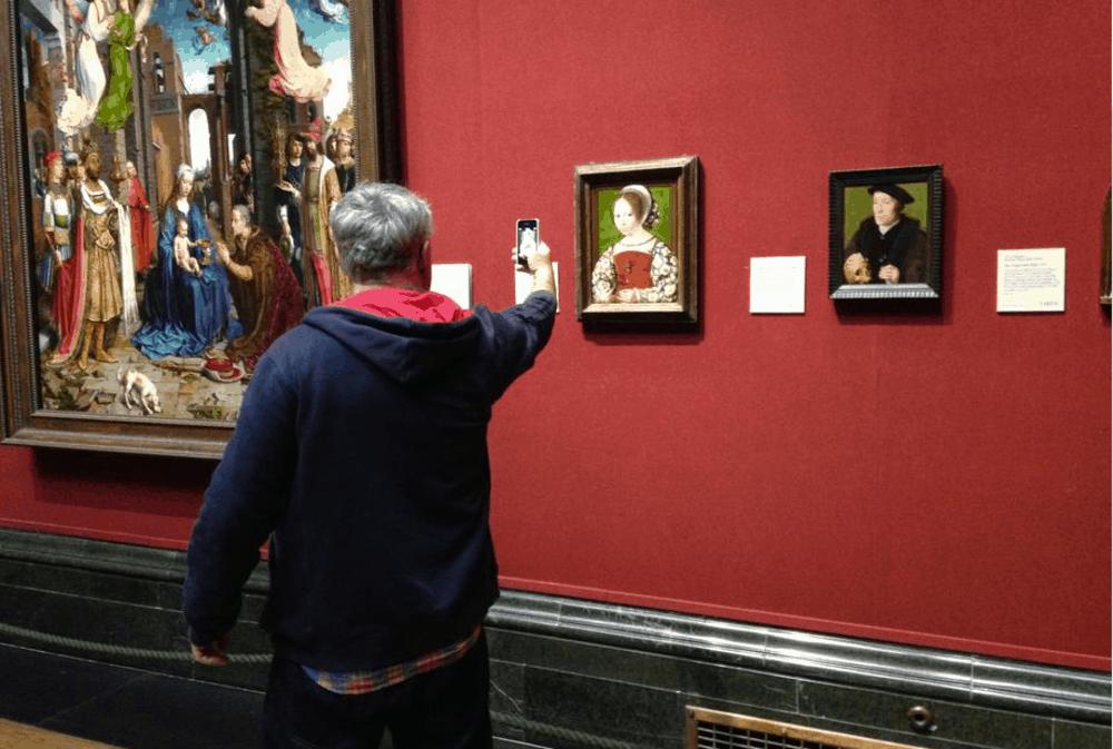 outings project ou comment les personnages des peintures se font la malle