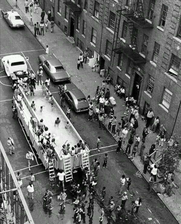 A swimmobile in New York City, 1960
