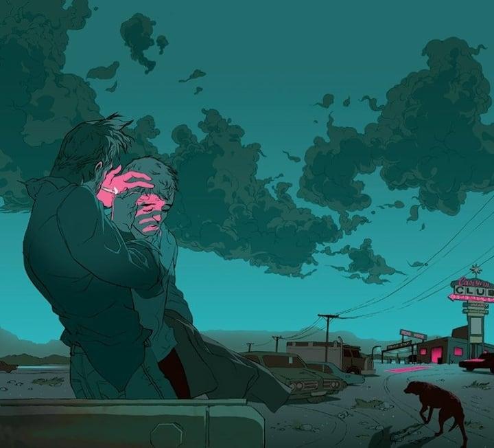 Striking Storytelling Illustrations by Tomer Hanuka 1