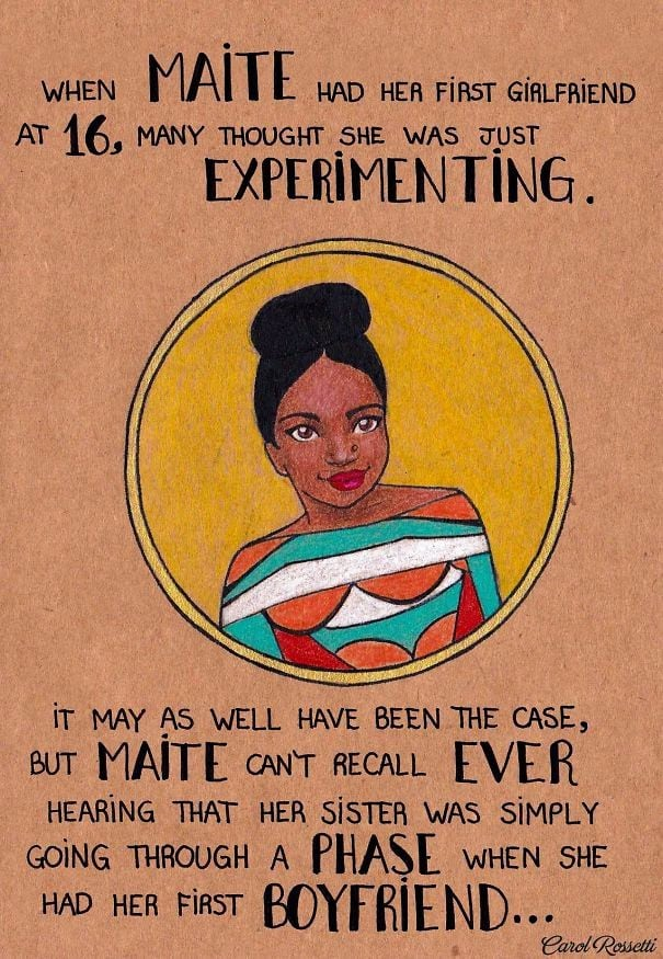 15 Powerful Illustrations That Show Women How To Fight Gender Prejudices 6
