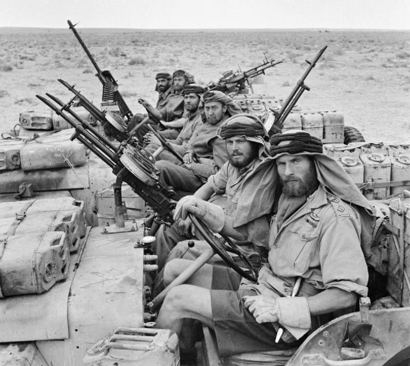 A team of SAS soldiers in North Africa, 1943