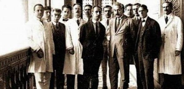 Albert Einstein among other scientists