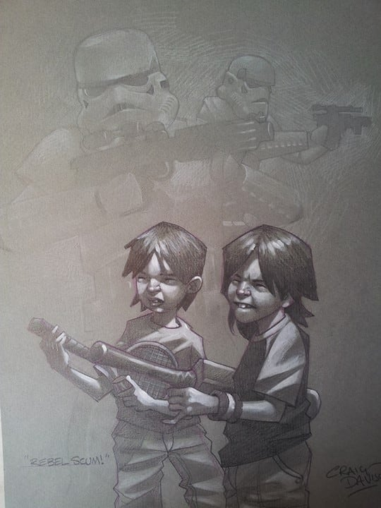 Children's imagination, by Craig Davidson - 16