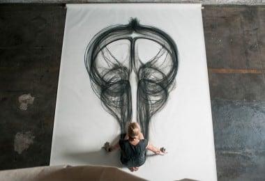 Heather Hansen's Bodily Art 1