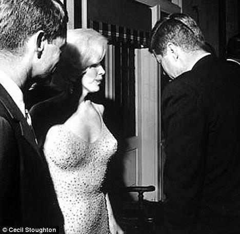 John F. Kennedy and Marilyn Monroe