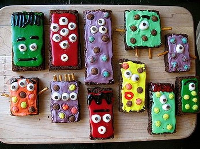 Monster-Brownies