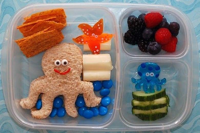 Octopus-bento