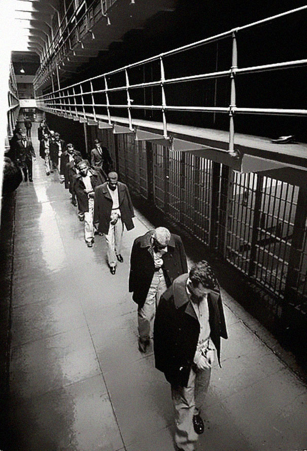 The Leaving of Last Prisoners from Alcatraz, 1963