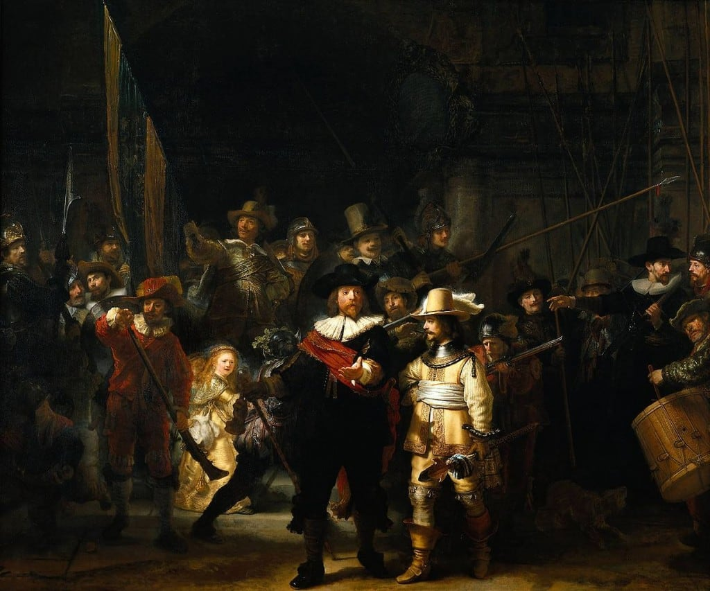 The_Nightwatch_by_Rembrandt-Famous-Paintings-in-the-World