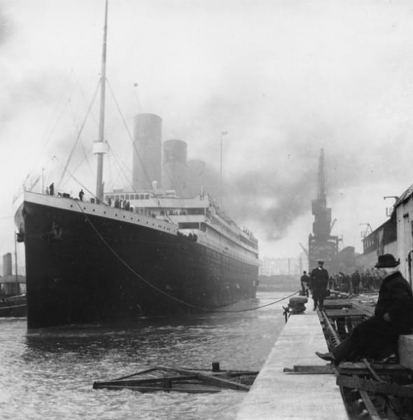 Titanic, 1912